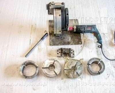 Tri Tool Tube Squaring Machine