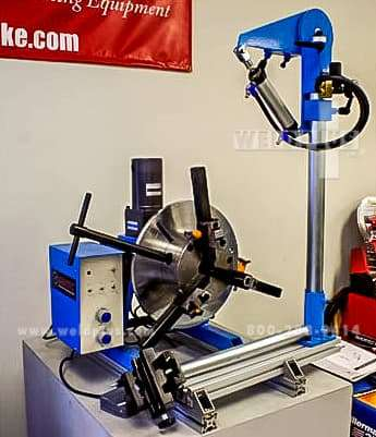 Gentec Small Welding Lathe System | Weld Plus Inc