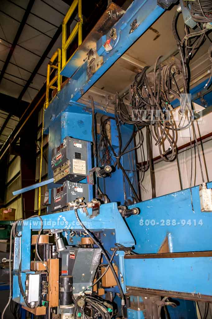 4 Weld Head Sub Arc Gantry Welding System