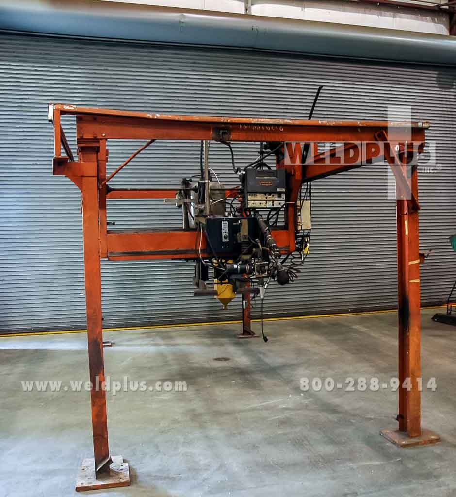 12 x 4 ft. Submerged Arc Welding Gantry