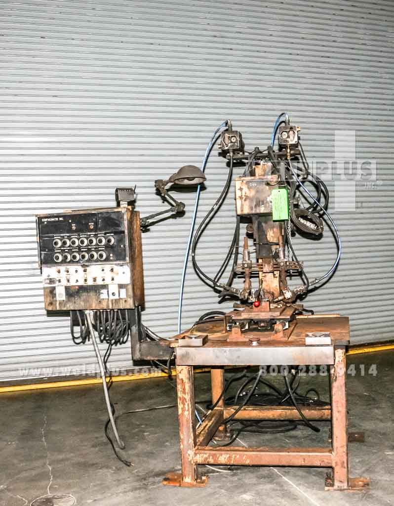 6 Inch Linear Dual Torch MIG Welding System
