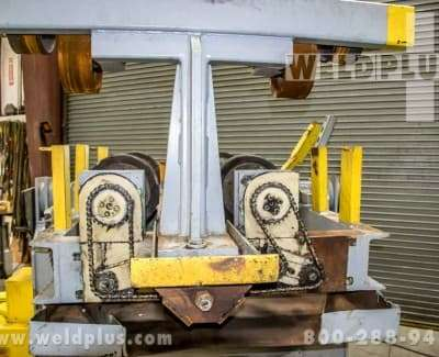 5000 lb Aronson Unit Frame Tilt Turning Rolls