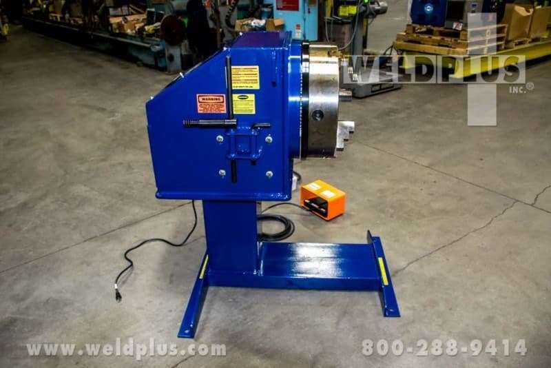 Bulldog 3,000 lb. Pipe Welding Positioner