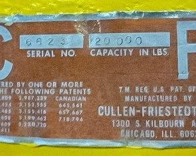 Cullen Freistedt 20000 lb Coil Hook