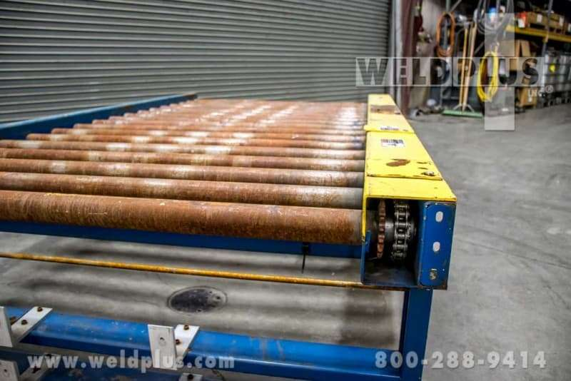 Versa Handling 9 foot Powered Pallet Conveyor