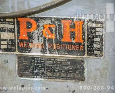 P and H 4600 lb Positioner