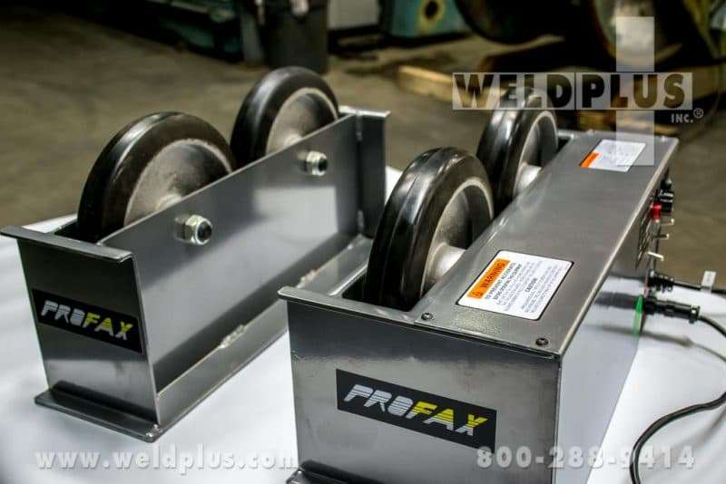 Profax 2,000 lb. Turning Rolls