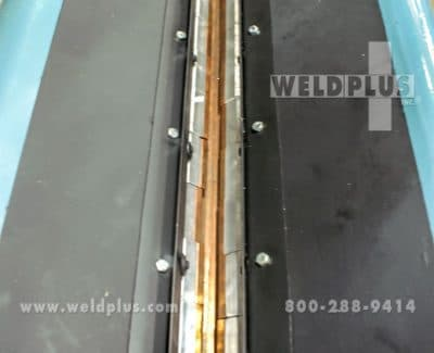 Before Image - Airline LWS72 Seam Welder Project