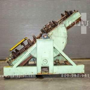 Aronson 30,000 lb. Tilting Unit Frame Turning Rolls