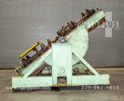 Aronson 30000 lb Tilting Unit Frame Turning Rolls