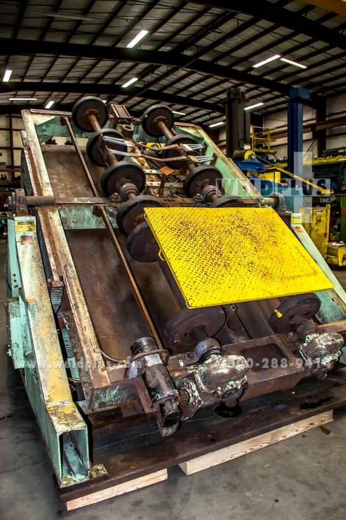 Aronson 30,000 lb. Tilting Unit Frame Turning Rolls