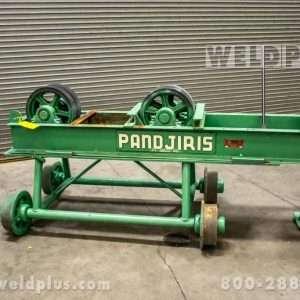 Pandjiris 10,000 lb. Idler Roll on Manual Travel Car