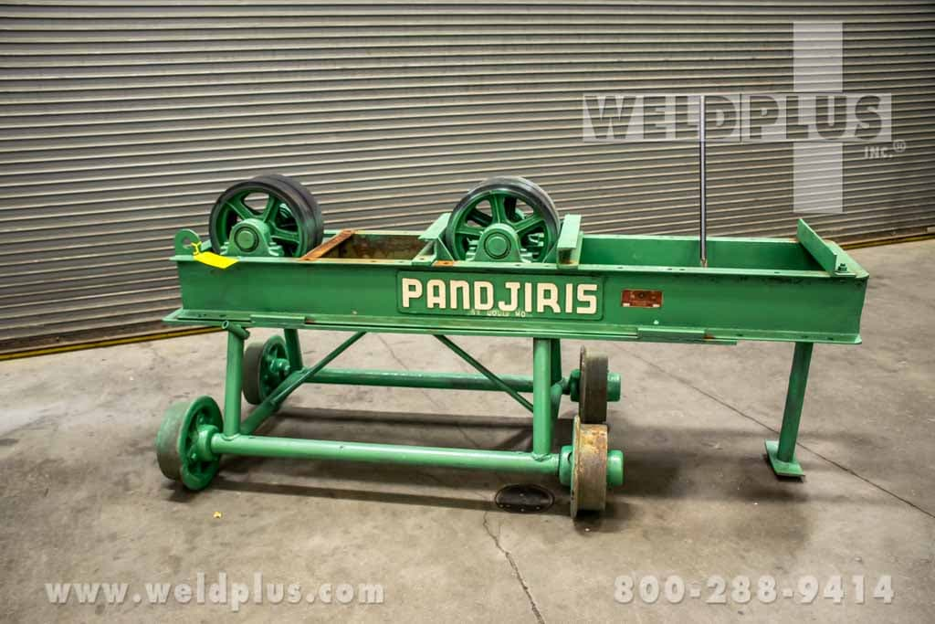 Pandjiris 10,000 lb. Idler Roll on Manual Travel Car