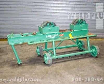 Pandjiris 17000 lb Idler Roll on Manual Travel Car