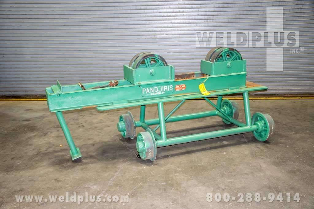 Pandjiris 17,000 lb. Idler Roll on Manual Travel Car
