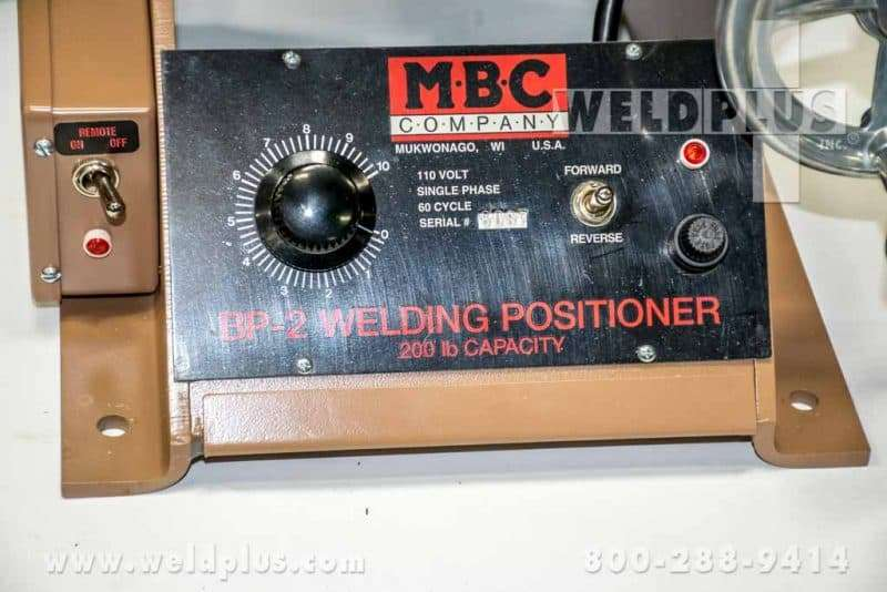 200 Pound MBC Bench Top Positioner