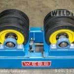 Webb 20,000 lb. Constant Center Turning Roll Set