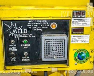 Weld Engineering Heated Flux Recovery