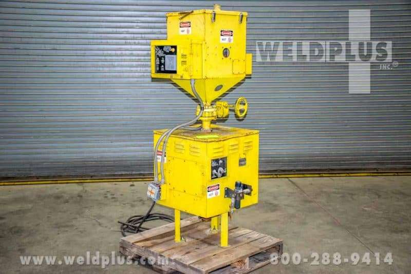 Weld Engineering Model HPFR 3000 Heated Flux Recovery and Separator