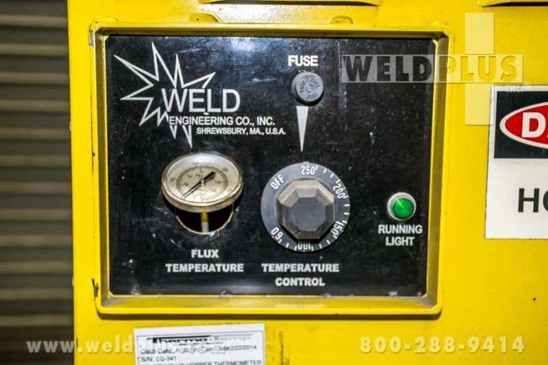 Weld Engineering Model HPFR-HAMX Heated Flux Recovery & Separator