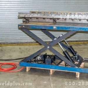 Air Technical Ind Hydraulic Lift Table