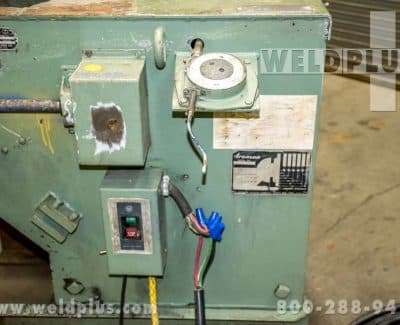 Aronson HD25 2500 lb Welding Positioner