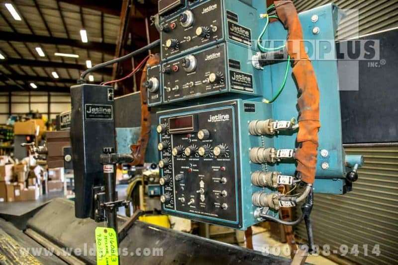 Jetline Model LWS96 External Seam Welder