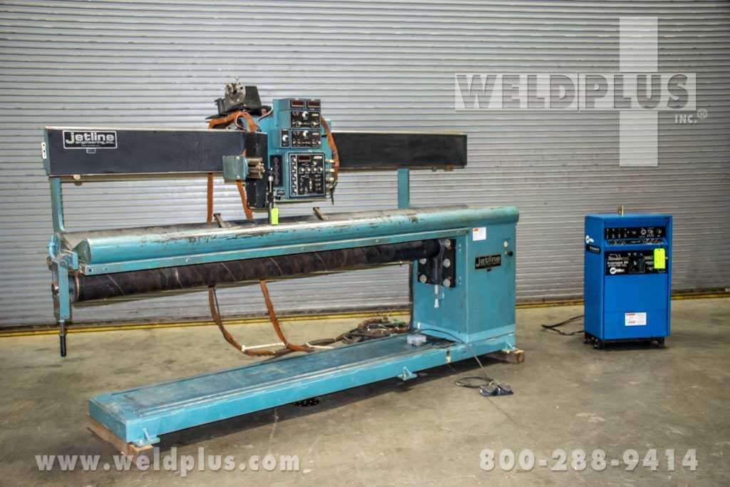 Jetline Model Lws96 External Seam Welder Weld Plus Inc