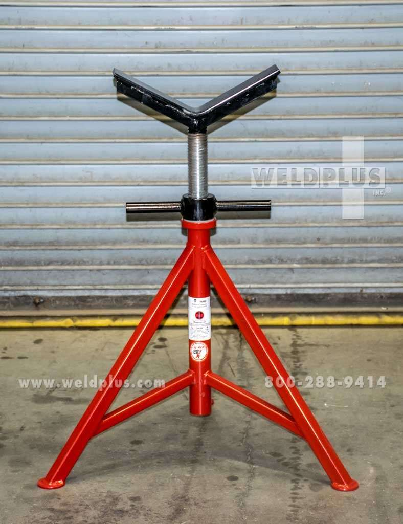 B b 5000 lb pipe support stand weld plus inc for Stand 2 b