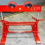 B & B 5 Ton Mega Roller Pipe Stand