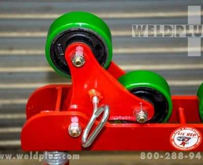 B & B 3000 lb Roller Head Pipe Stand