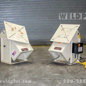 Pandjiris 2500 lb Headstock Tailstock Set
