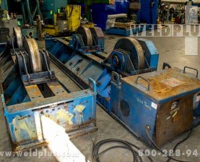 Aronson 300 Ton Steel Wheel Turning Roll Set