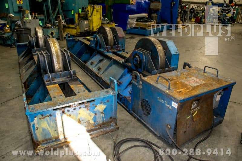 Aronson 300 Ton Steel Wheel Turning Roll Set