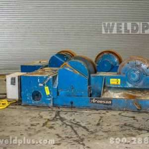 Aronson 200 Ton Steel Wheel Turning Roll Set