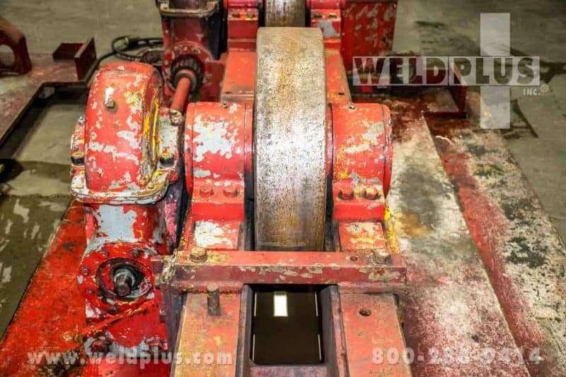 Unique Readco 100 Ton Turning Roll Set