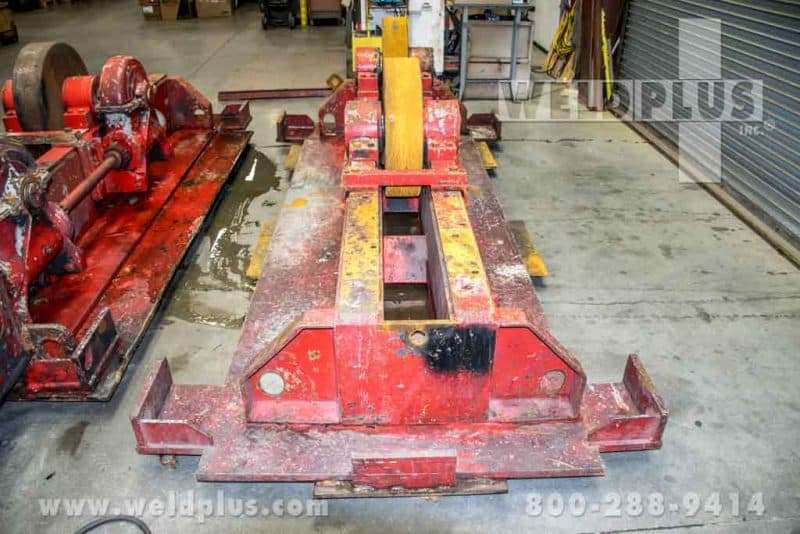 Unique Readco 100 Ton Turning Roll Set