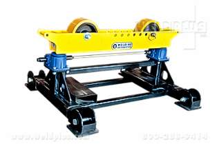 LJ Welding 8000 lb Gear Elevated Pipe Roller Stand
