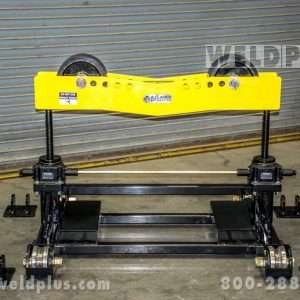LJ Welding 16,000 lb. Gear Elevated Pipe Roller Stand