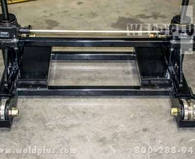 LJ Welding 16000 lb Gear Elevated Pipe Roller Stand