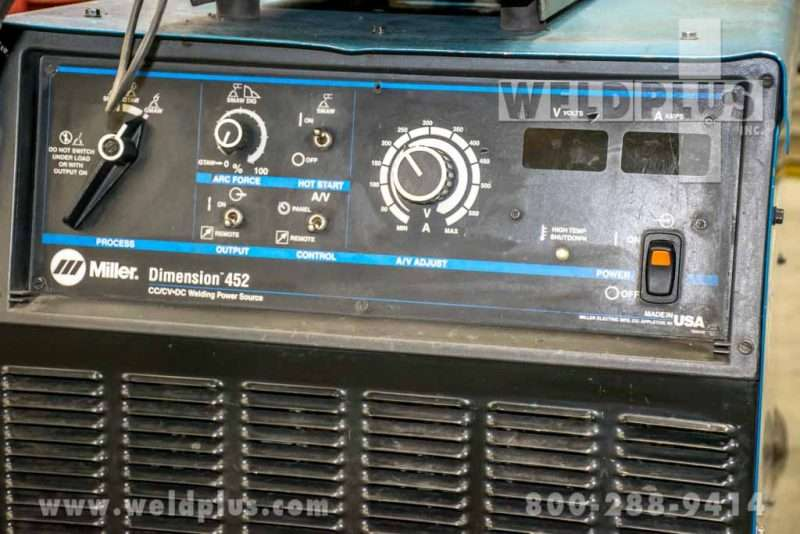 Refurbished Miller Dimension 452 Power Supply