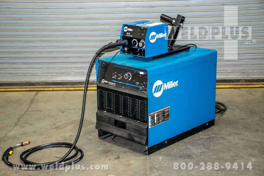 refurbished miller deltaweld 452 power supply weld plus inc