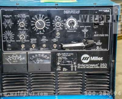 Refurbished Miller Syncrowave 250 Power Supply