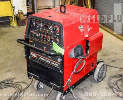 Refurbished Lincoln Precision TIG 375 Package