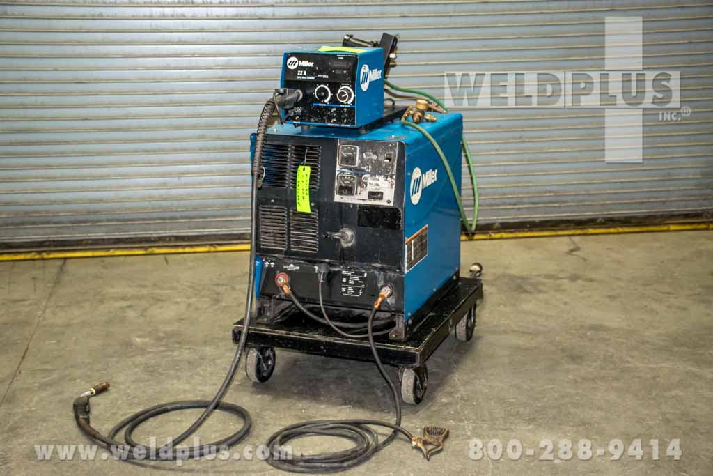Refurbished Miller CP-302 MIG Package