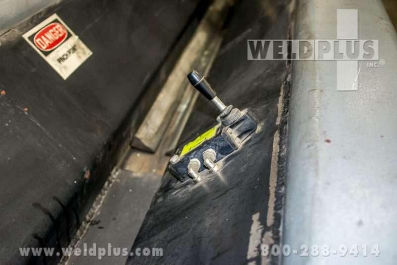 Four Corp 10 Foot Combination Seam Welder