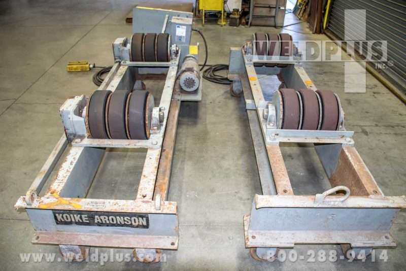 Aronson Used Tank Turning Roll Set