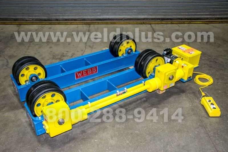 Webb 12,000 Lb. Tank Turning Rolls