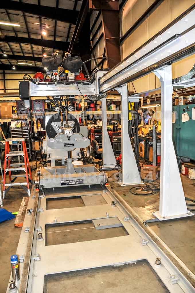 Sidebeam Headstock Welding System