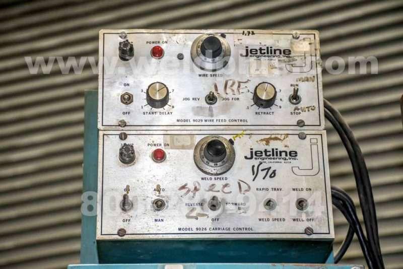 Jetline 10 ft. External Seam Welder